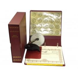 LLC Kit with Seal Embosser AND Laser Wafer Seal (EC BURGUNDY)