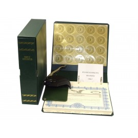 Non-profit Corporate Kit with Seal Embosser AND Laser Wafer Seal (EC Green)