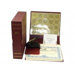 Non-profit Corporate Kit with Seal Embosser AND Laser Wafer Seal (EC Burgundy)