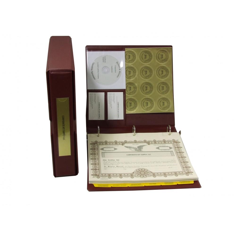 LLC Kit with Laser Wafer Seal (VL Burgundy)