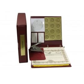 LLC Kit with Seal Embosser AND Laser Wafer Seal (VL Burgundy)