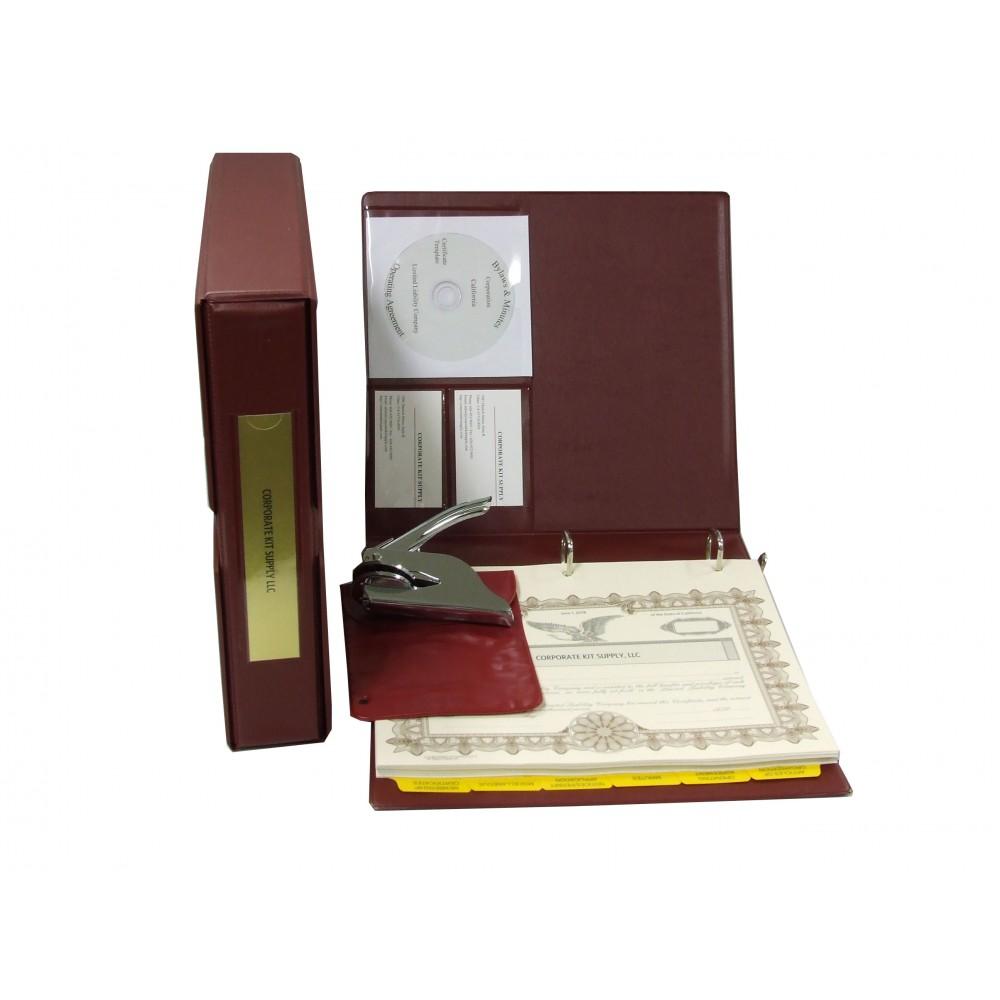 LLC Kit with Seal Embosser (VL Burgundy)