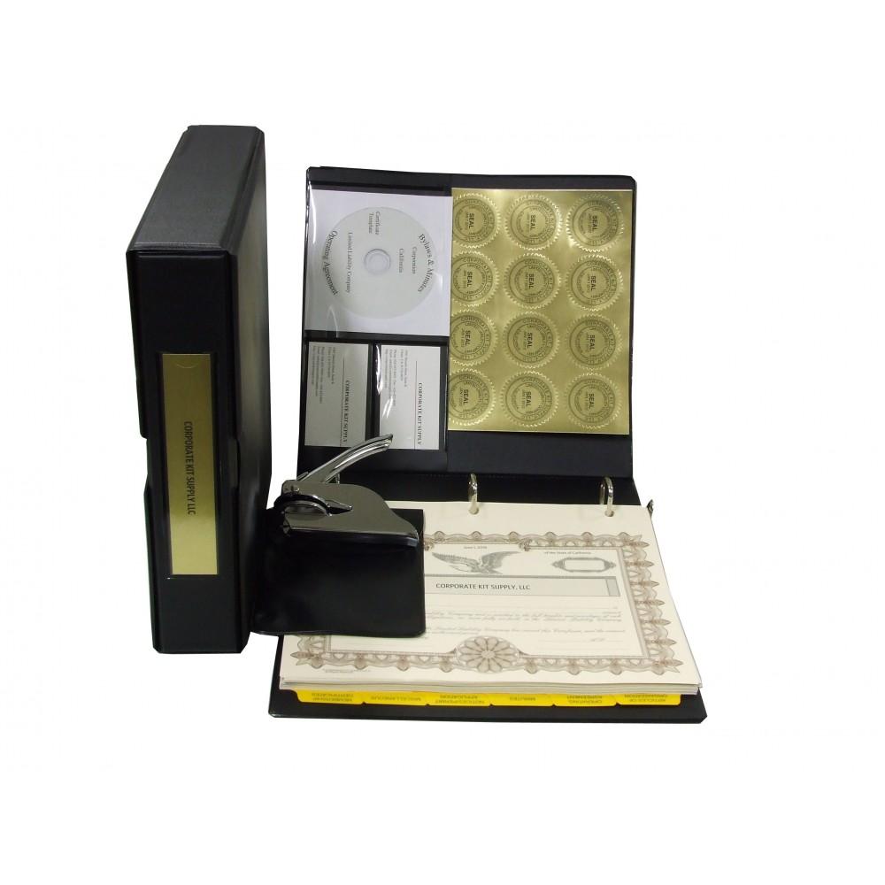 LLC Kit with Seal Embosser AND Laser Wafer Seal (VL Black)