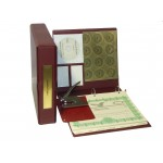 Corporate Kit with Seal Embosser and Laser Wafer Seal (VL Burgundy)