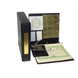 Corporate Kit with Seal Embosser and Laser Wafer Seal (VL Black)