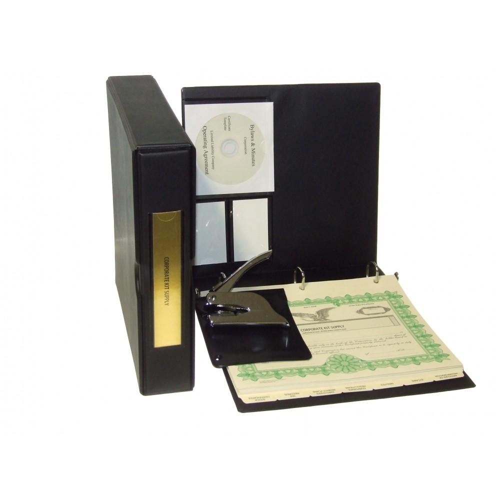Corporate Kit with Seal Embosser (VL Black)