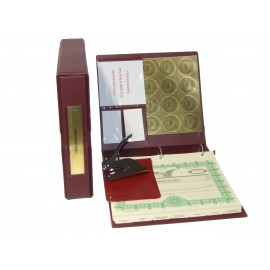 Professional Corporate Kit with Seal Embosser and Laser Wafer Seal (VL Burgundy)