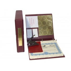 Non-profit Corporate Kit with Seal Embosser AND Laser Wafer Seal (VL Burgundy)