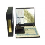 Non-profit Corporate Kit with Seal Embosser AND Laser Wafer Seal (VL Black)