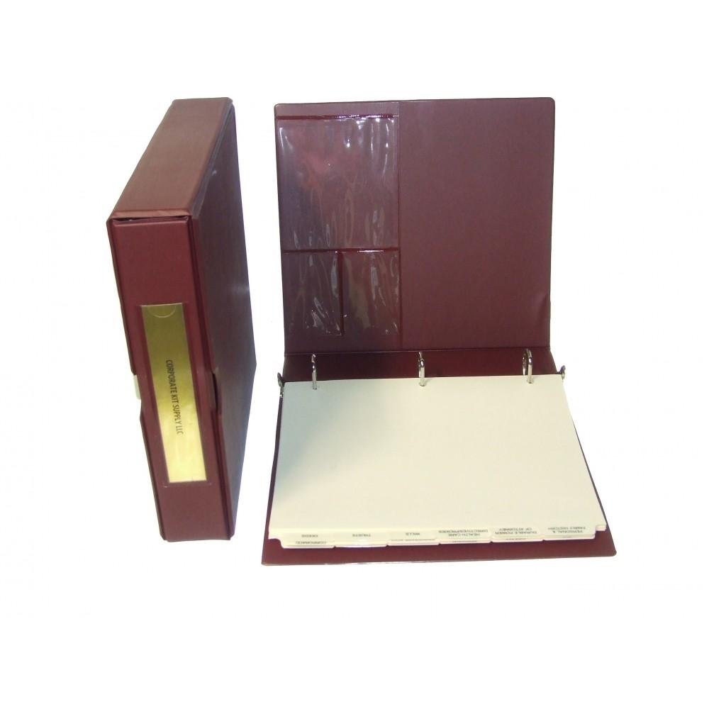 Estate Planning Kit (VL Kit Burgundy)