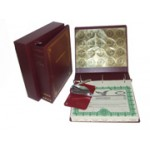 Professional Corporate Kit with Seal Embosser and Laser Wafer Seal (EC Burgundy)