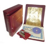 Non-profit Corporate Kit with Seal Embosser AND Laser Wafer Seal (LX Burgundy)